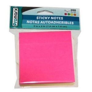Promarx Neon Sticky Notes - 50 Sheets